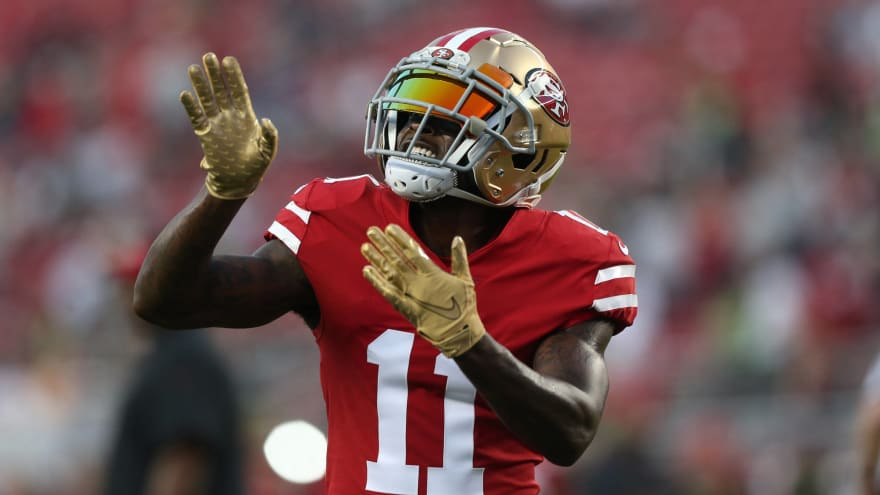 Bears sign wide receiver Marquise Goodwin