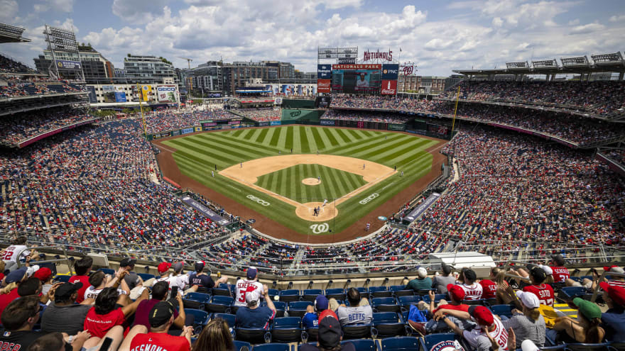 At least three injured in shooting outside Nationals Park