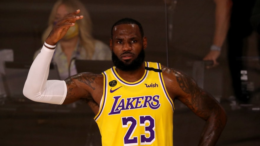 LeBron: Being away from family a 'huge challenge' in bubble