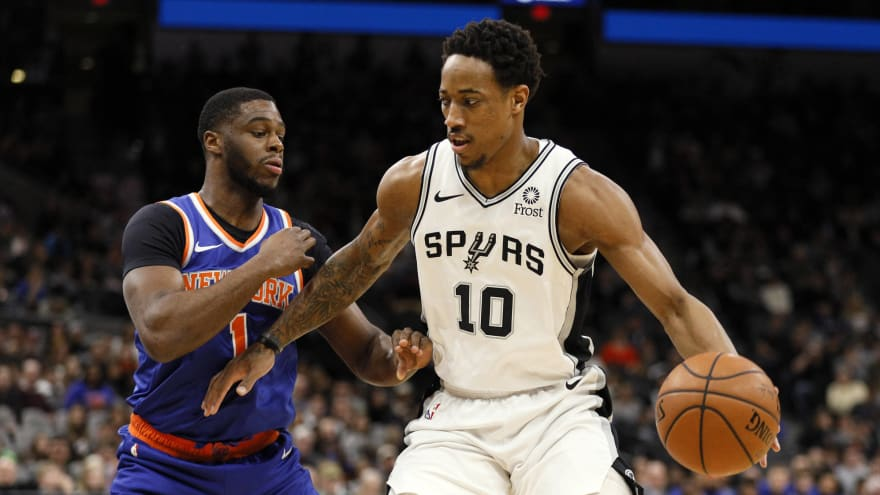 Could Knicks target DeMar DeRozan in offseason?