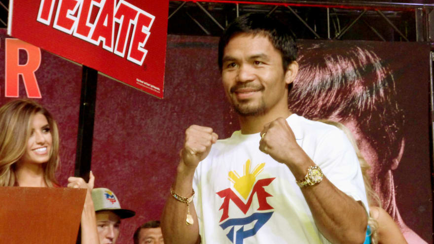 Boxing star Manny Pacquiao running for Philippine president