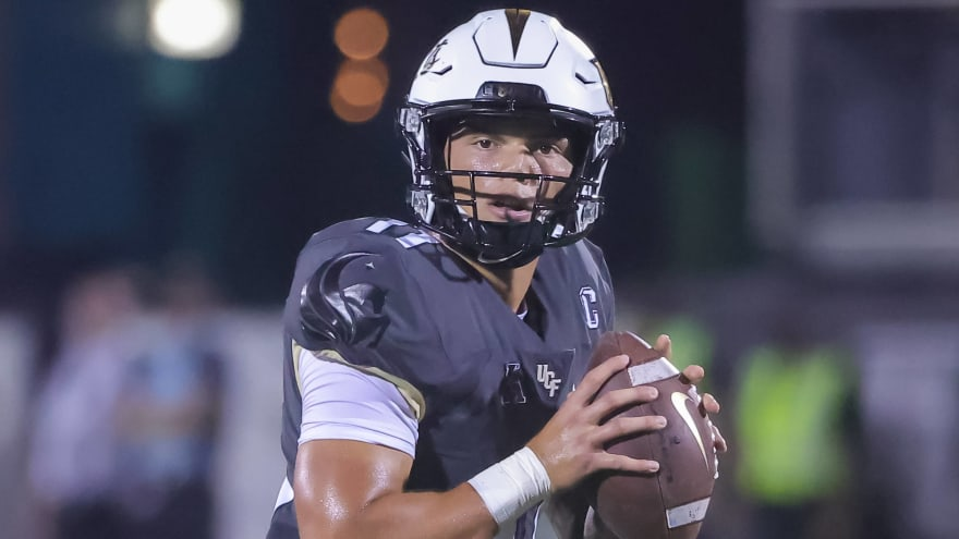 UCF QB Dillon Gabriel suffered broken clavicle in loss to Louisville
