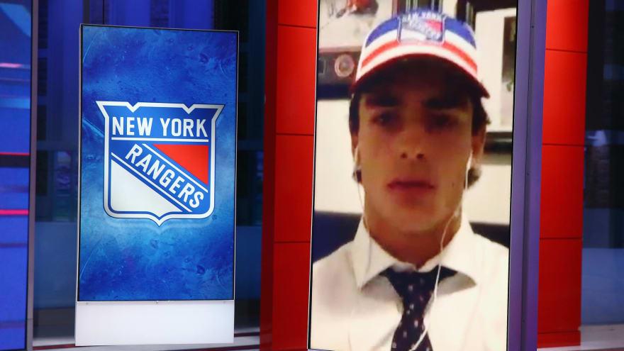 Rangers sign 2020 first-round pick Braden Schneider