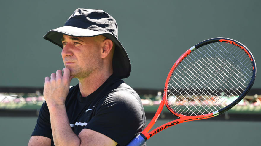 Andre Agassi revealed his fascinating secret to beating Boris Becker