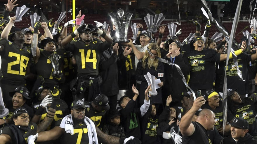 Winners, losers from Oregon's blowout win over Utah in Pac-12 Championship Game
