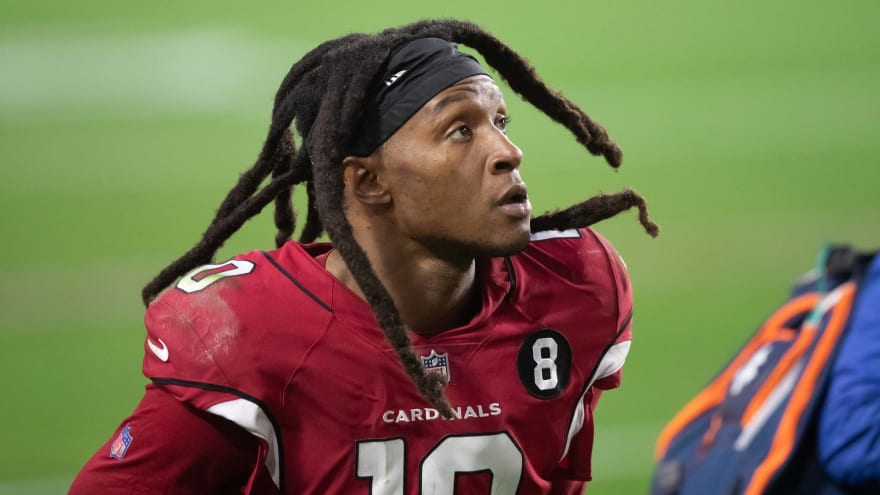DeAndre Hopkins questioning his NFL future over vaccine rules