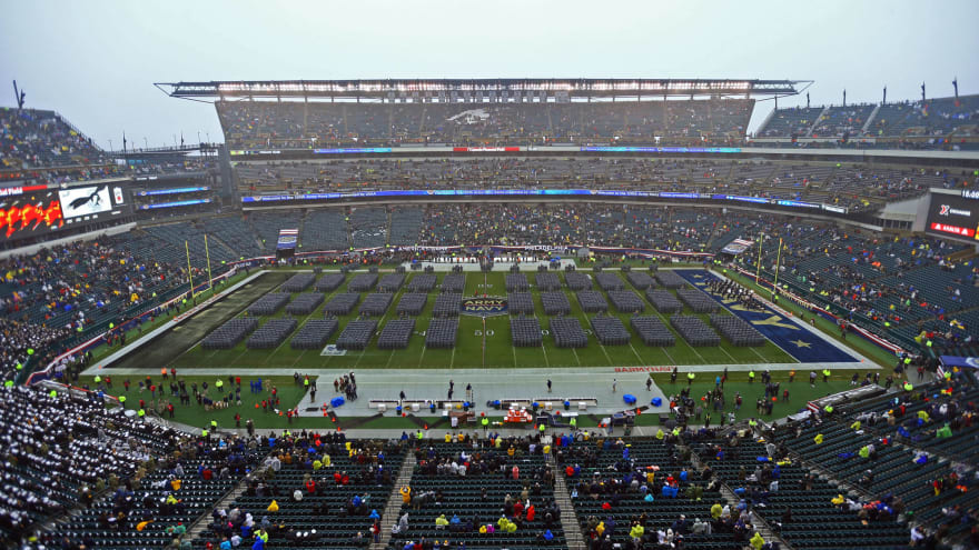 2020 Army-Navy Game moved from Philadelphia to West Point