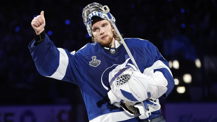 Ranking every starting goalie in the NHL for the 2021-22 season