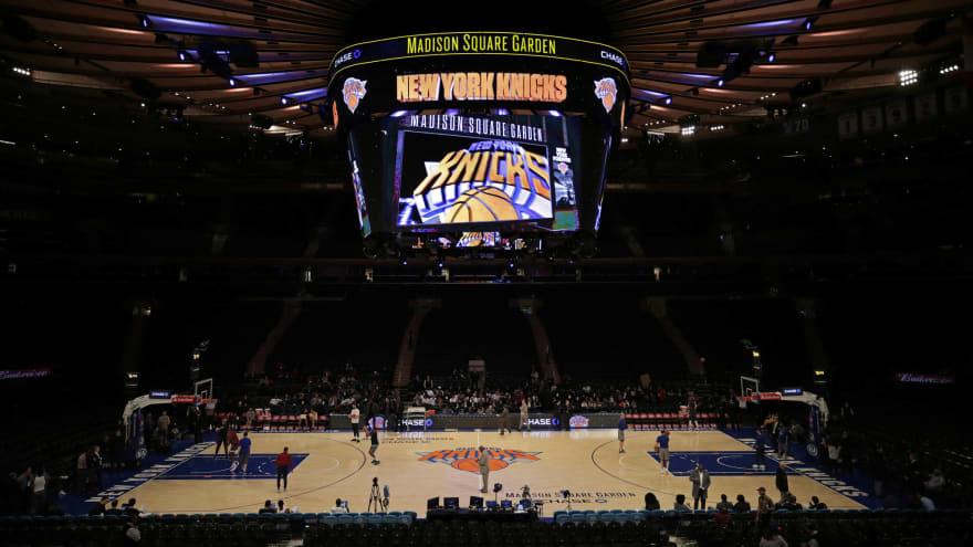 Knicks ban media from MSG for 2020-21 season
