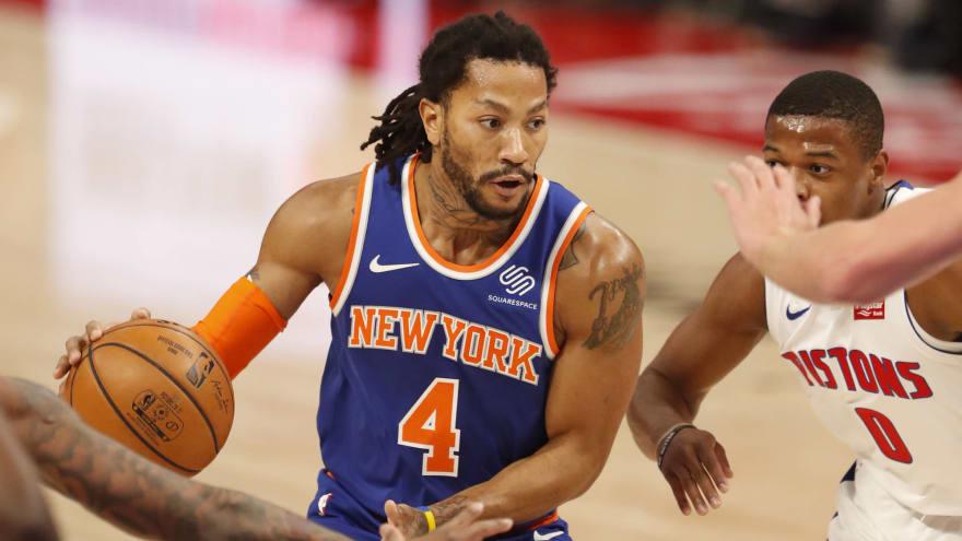 Knicks' Rose still out despite multiple negative COVID tests