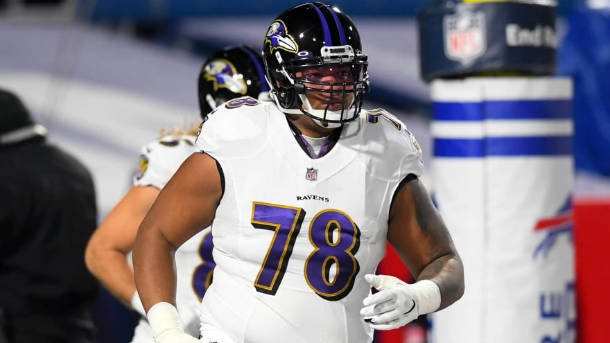 Six teams reportedly interested in Orlando Brown Jr.