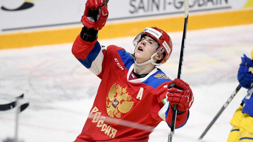 Maple Leafs sign 2020 first-round pick Rodion Amirov