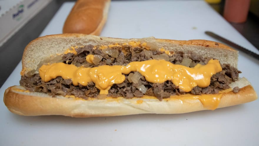 This 'Philly cheesesteak' at Miller Park looks nothing like a Philly cheesesteak