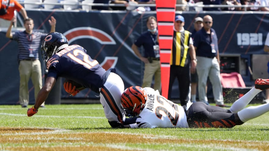 Watch: Andy Dalton connects with Allen Robinson for opening-drive TD
