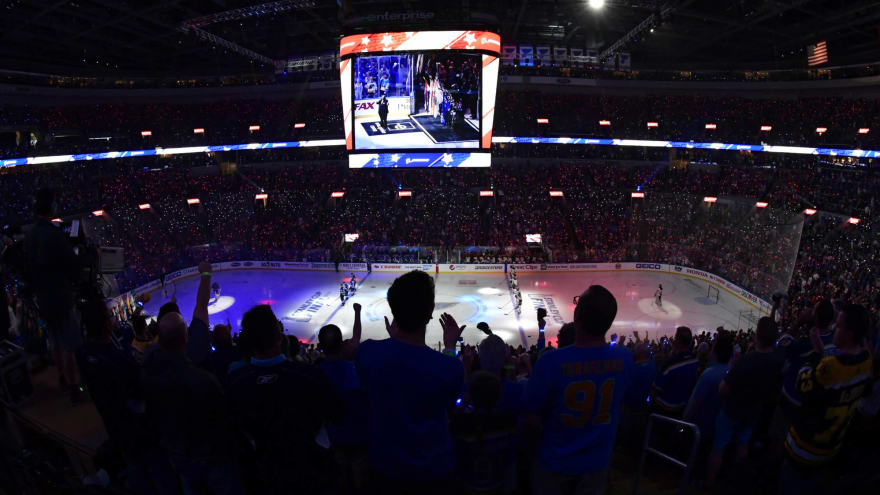 St. Louis Blues become fifth NHL team to allow fans