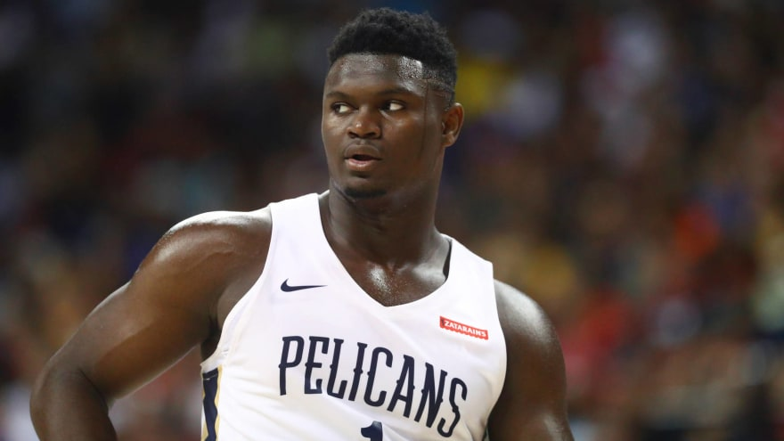 Coach K: Zion 'never should've played' in Summer League