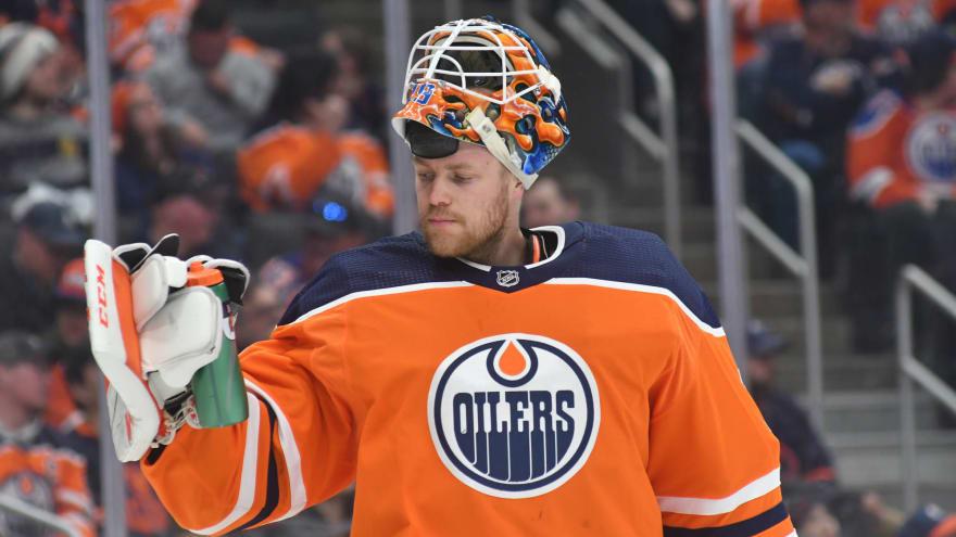 Andrej Sekera Edmonton Oilers Player Swingman Jersey