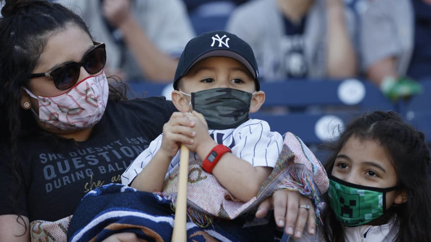 Yankees, Mets will have 20% fan capacity to open season