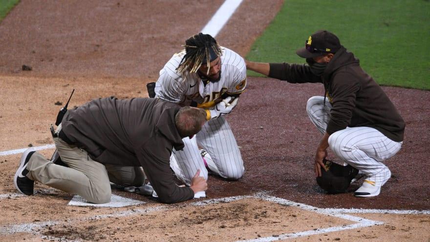 Fernando Tatis Jr. suffers partially dislocated shoulder
