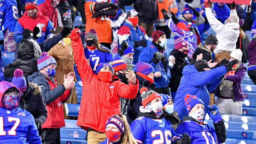 Bills plan to only have vaccinated fans at home games