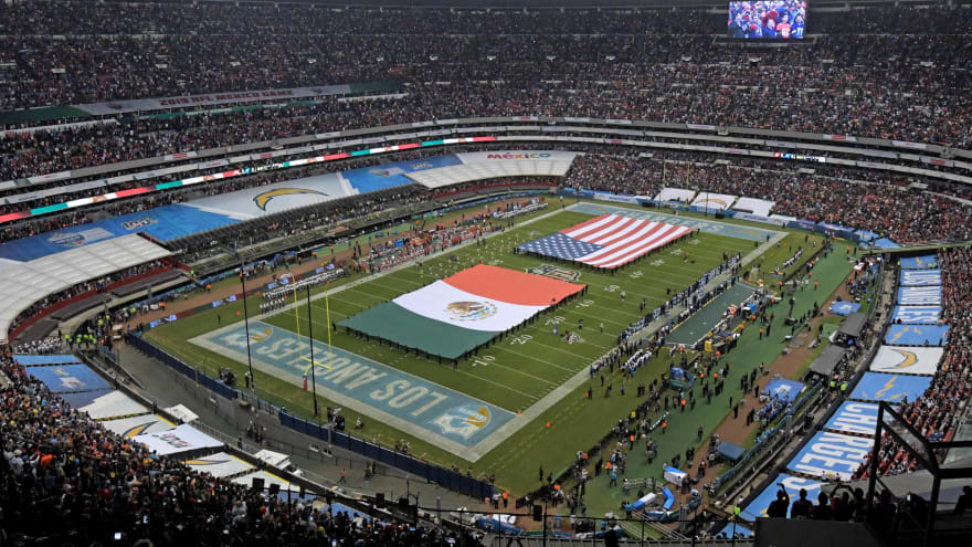 No NFL game in Mexico City next season due to COVID-19?
