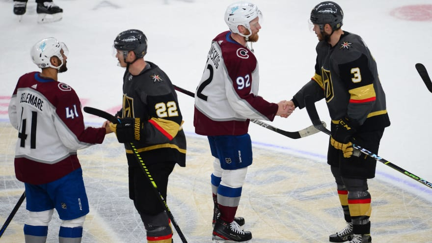 Avs, Golden Knights betting favorites to win '22 Stanley Cup
