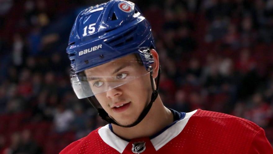 Canadiens' Kotkaniemi suffers spleen injury after demotion to AHL