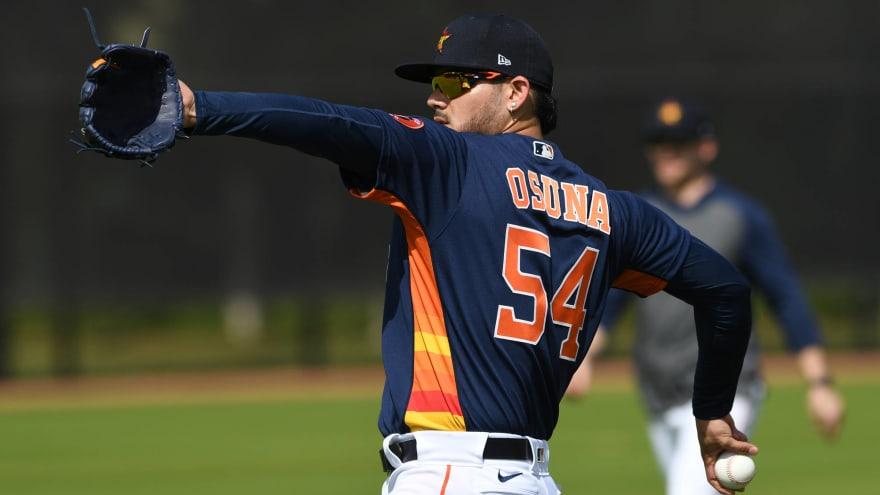 Astros' Roberto Osuna, Brad Peacock, Austin Pruitt not likely ...