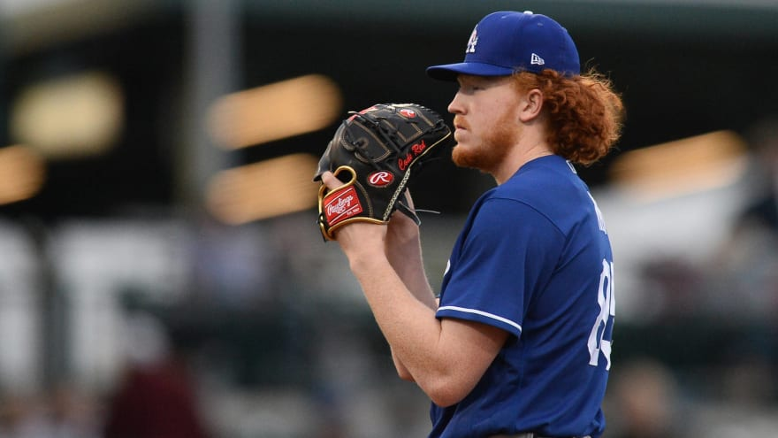 Dustin May has UCL damage in throwing elbow