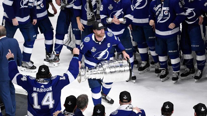 Lightning hold record for shortest span between winning titles