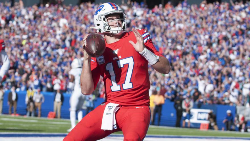 Josh Allen, Stefon Diggs both thrilled over wideout joining Bills