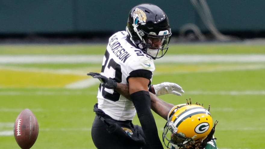 Panthers acquire CB C.J. Henderson in trade with Jaguars
