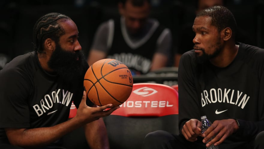Durant, Harden to meet with Nets about Irving's status