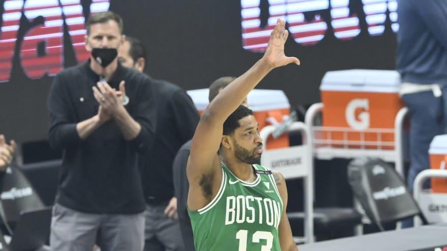 Celtics trade Tristan Thompson to Hawks for Kris Dunn, pieces?