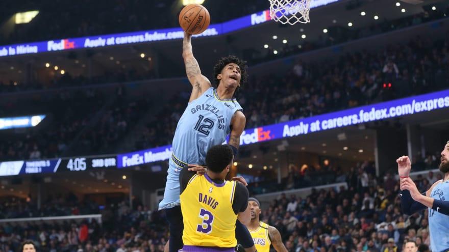 Ja Morant dedicates win over Lakers to Twitter troll