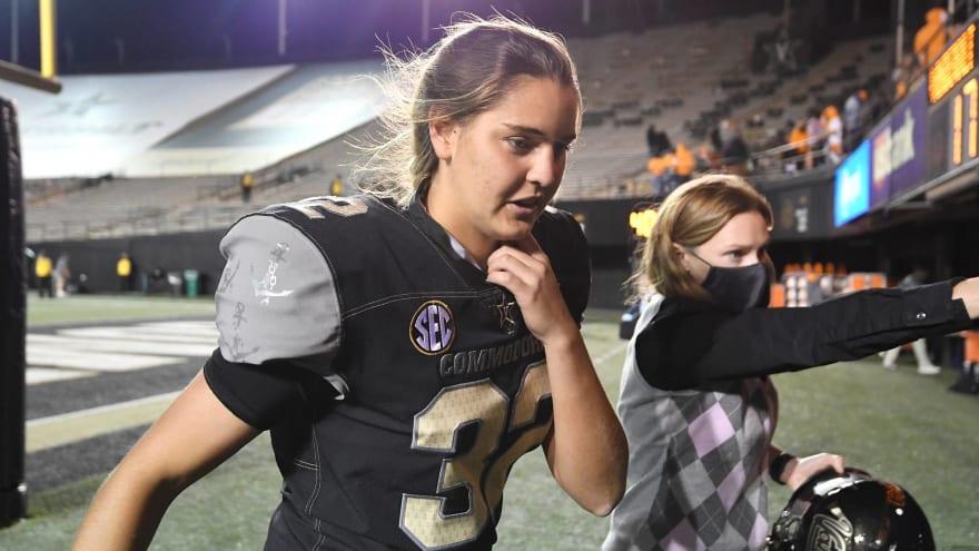 Sarah Fuller thanks Vanderbilt for 'amazing opportunity'