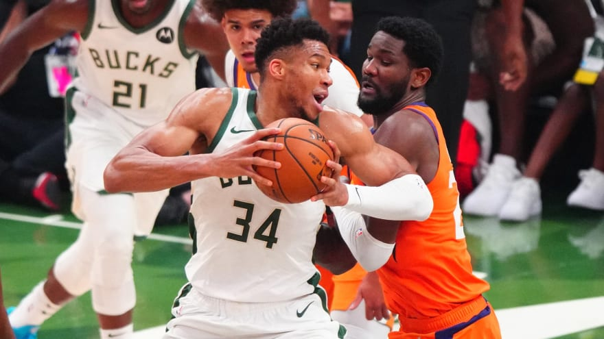 Giannis has funny explanation for early NBA Finals absences
