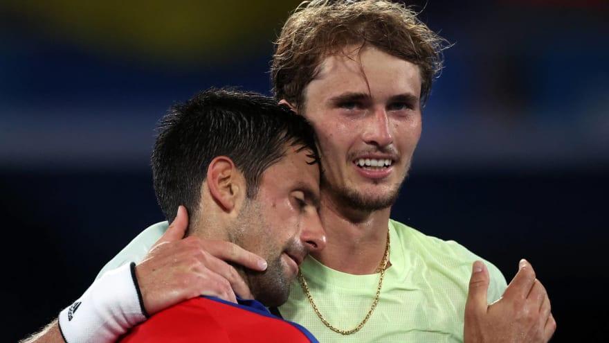 Djokovic's Golden Slam bid ends with loss to Zverev