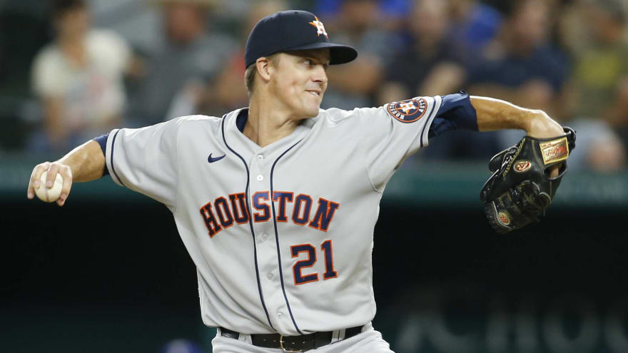 Astros' Zack Greinke placed on 10-day IL with neck soreness