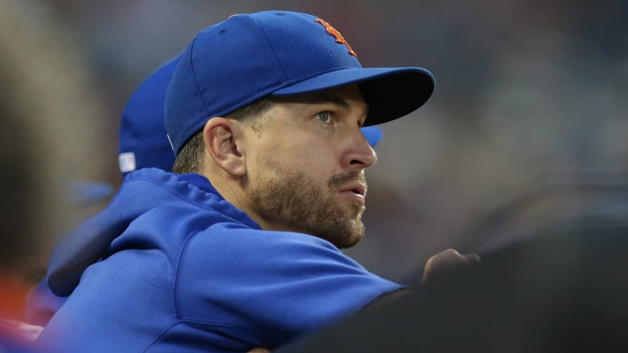 Mets' deGrom dealing with elbow inflammation, to have MRI