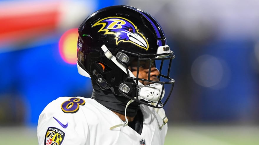 Ravens, Jackson have not started negotiating new contract