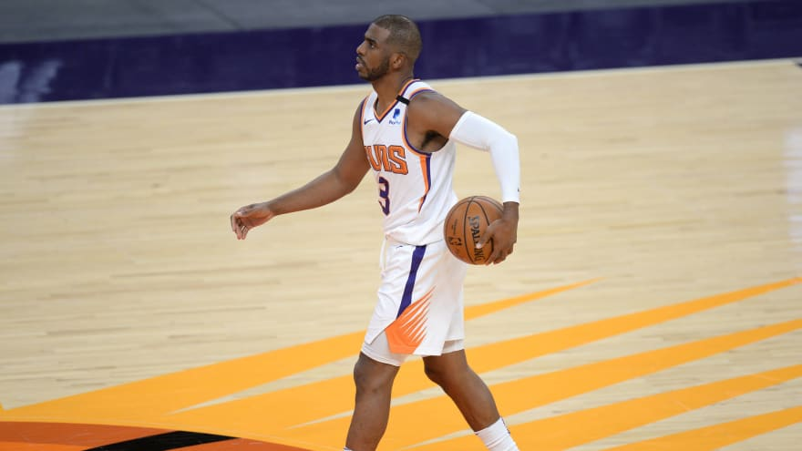 CP3 passes Magic Johnson for fifth on all-time assist list