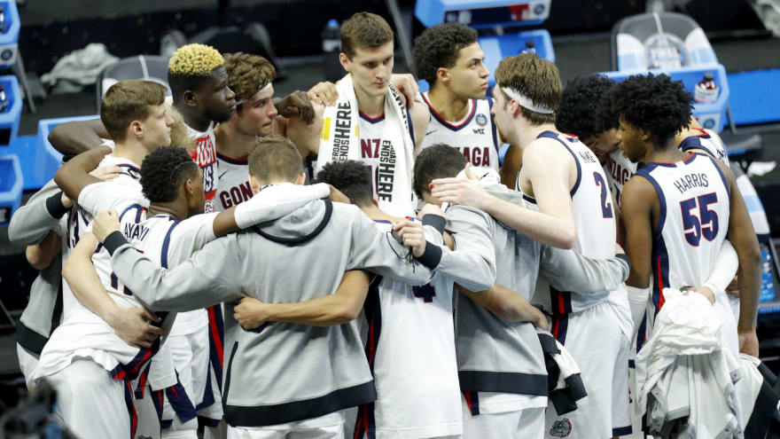 Gonzaga opens as betting favorite to win 2022 NCAA title