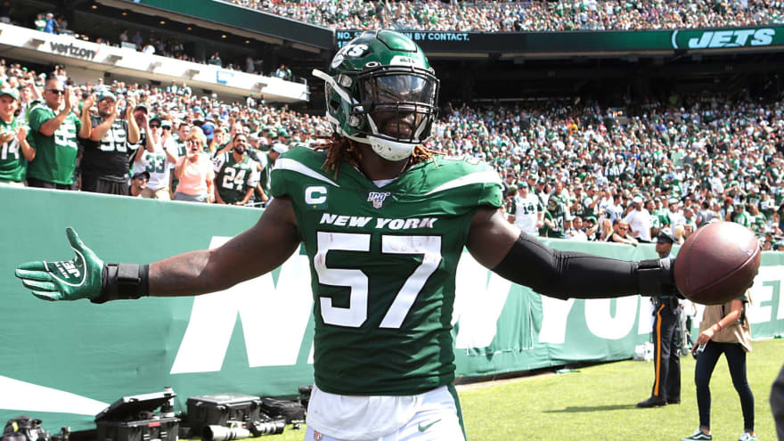 Jets' C.J. Mosley explains decision to opt out of 2020 NFL season