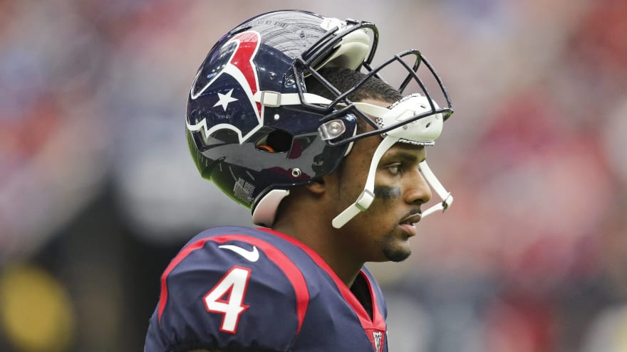 Texans' Deshaun Watson out vs. Jaguars; absence 'not injury related'