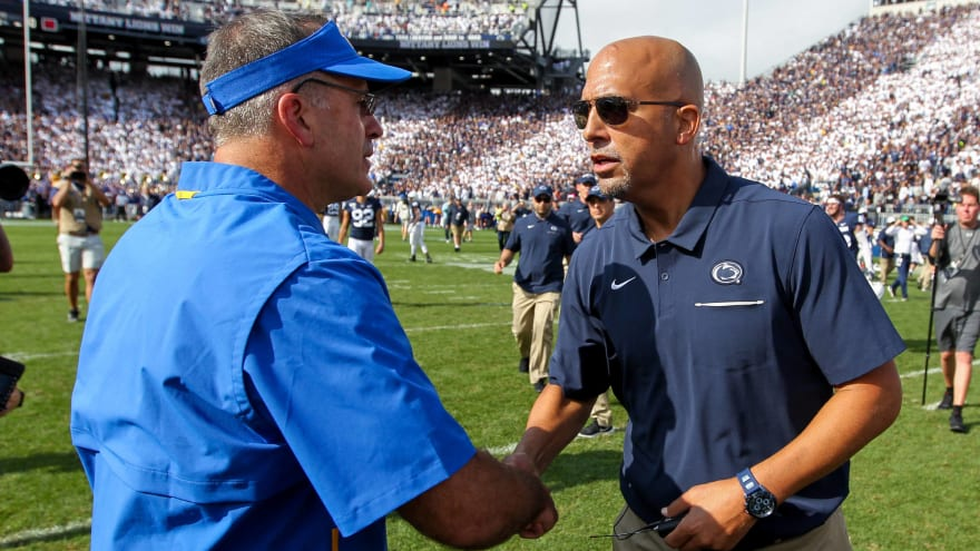 Pitt's Narduzzi defends Penn State's Franklin over controversy