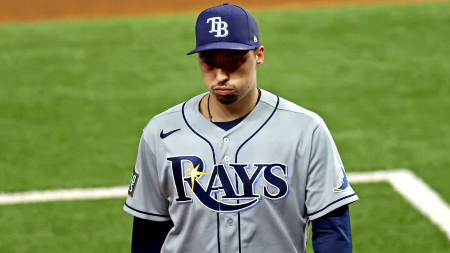 Blake Snell 'disappointed and upset' over getting pulled