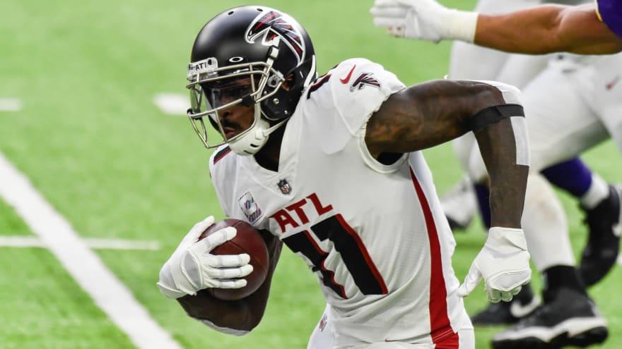 Falcons receiving calls about trade for Julio Jones?