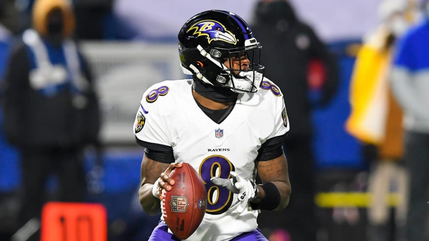 Ravens' newly signed WR caught 10 TDs from Jackson in H.S.