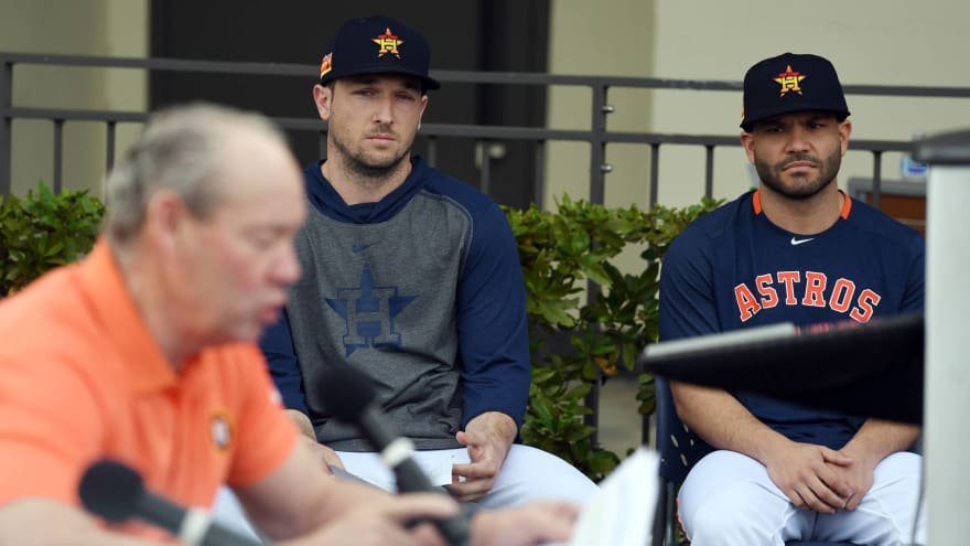 The Astros' apologies did little to repair their image